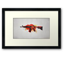 CS:GO M4A4 Howl Framed Print