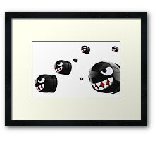 Mario Bullet Bill Framed Print