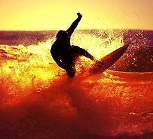 Catching Waves surf by borines