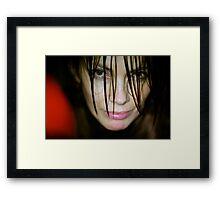 ###19### Framed Print