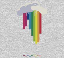 Raining Rainbows One Piece - Long Sleeve