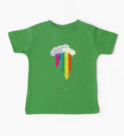Raining Rainbows Baby Tee