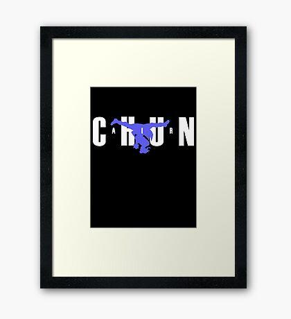 Air Chun Framed Print