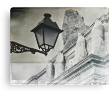 When culture can become ghosts of the past Canvas Print