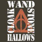 Deathly Hallows (W.S.C.H) WHITE / ORANGE by Styl0