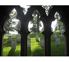 Oakwood cemetery Photographic Print