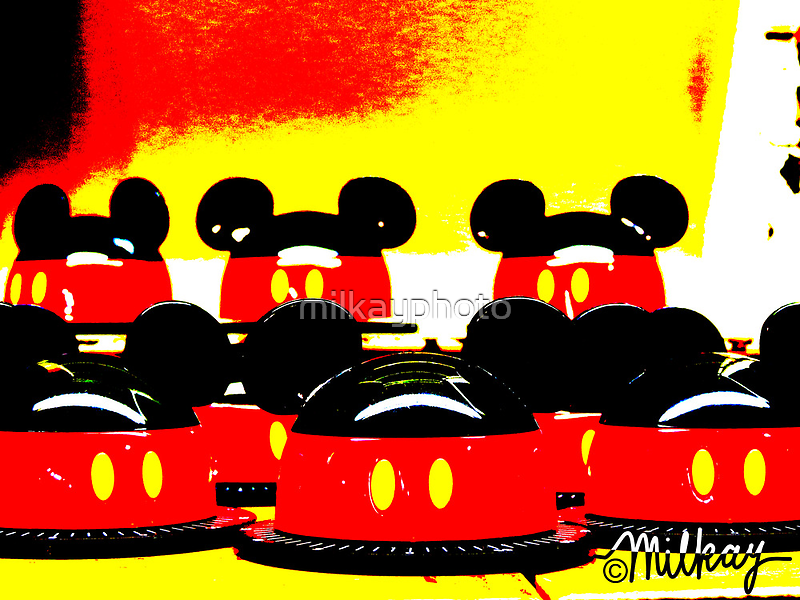 Pop Art Mickey by milkayphoto
