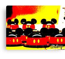 Pop Art Mickey Canvas Print