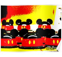 Pop Art Mickey Poster