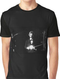 Twain & Tesla Graphic T-Shirt
