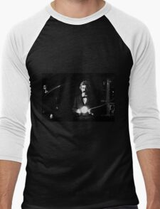 Twain & Tesla Men's Baseball ¾ T-Shirt