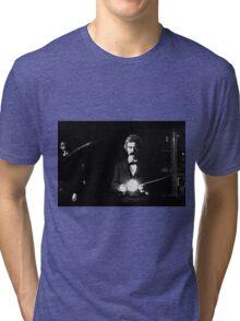 Twain & Tesla Tri-blend T-Shirt