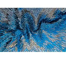 Art Abstract 3D Photographic Print