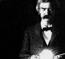 Twain & Tesla Sticker