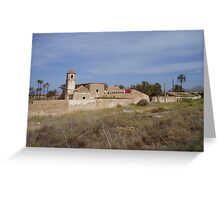 Desolate Spanish villa  Greeting Card