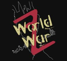 World War Z T-Shirt 3 by Raymond Doyle (BlackRose Design)