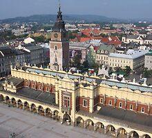 Krakow Skyline by Elena Skvortsova