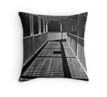 Walking The Lines Throw Pillow