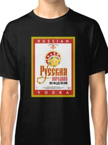 Russian vodka Classic T-Shirt