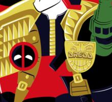 Dreddpool' Bipolar Complex Sticker