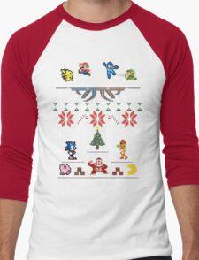 A Super Smash 8-Bit Christmas T-Shirt