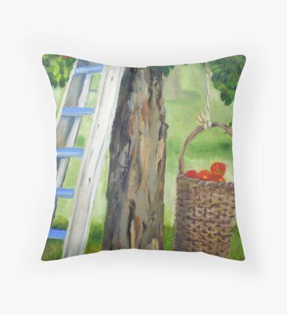 388 Apple Tree Throw Pillow