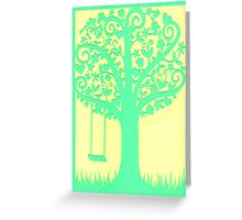 Tree of Life, Laughter and Love Greeting Card
