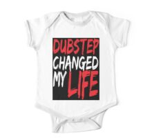 Dubstep Changed My life (black/red) One Piece - Short Sleeve