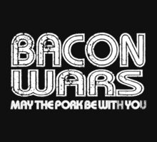 Bacon Wars - May the Pork be with You T-shirt One Piece - Short Sleeve