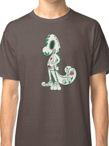 Treecko Pokemuerto | Pokemon & Day of The Dead Mashup Classic T-Shirt