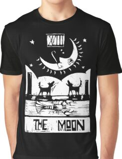The Moon  - Tarot Cards - Major Arcana Graphic T-Shirt