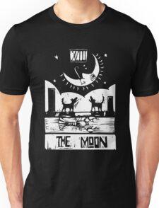 The Moon  - Tarot Cards - Major Arcana Unisex T-Shirt