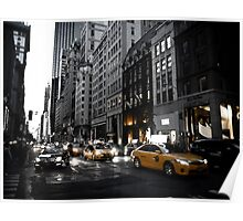 New York 5th Avenue Poster
