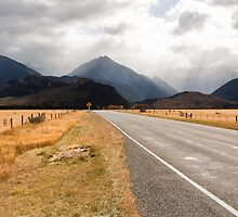 The road to Arthur's Pass by CSchulstad
