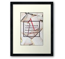Clockwork Angel/Books Framed Print