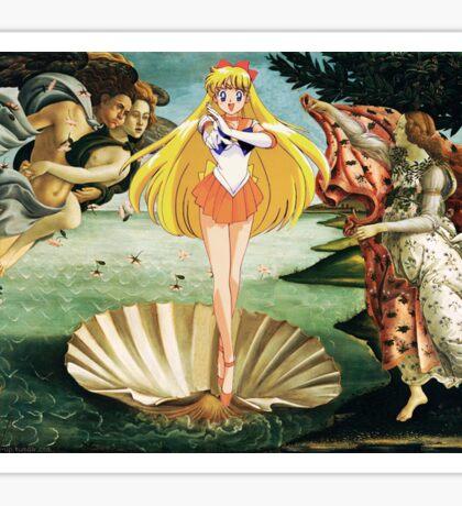 Birth of Sailor Venus Sticker