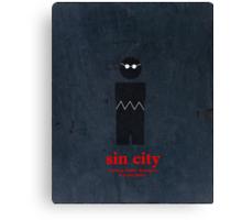 Sin City (Vintage) Canvas Print