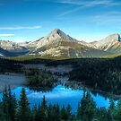 Commonwealth Peak and Chester Lake. by Justin Atkins