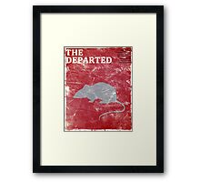 The Departed (Vintage) Framed Print