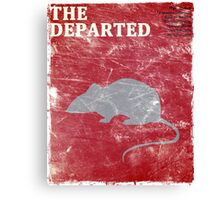 The Departed (Vintage) Canvas Print