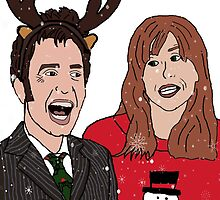 The Doctor Donna's Christmas by btvskate
