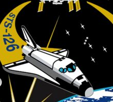 Endeavour STS-126 Mission Logo Sticker