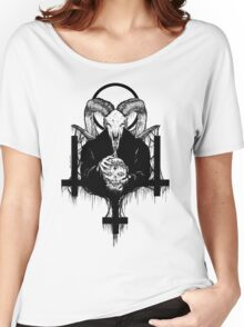 Satan Gets Ahead Women's Relaxed Fit T-Shirt
