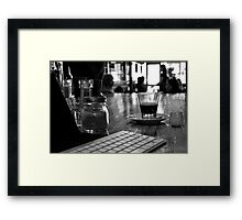 Sensuous distraction Framed Print