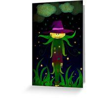 Lonley Scarecrow Greeting Card