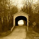 Covered Bridge - Central Indiana by mandamaeh