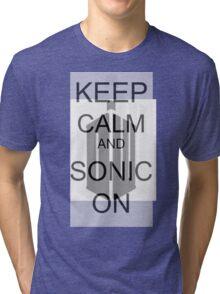 Keep Calm... Tri-blend T-Shirt