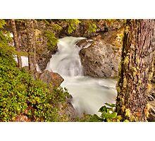 Wallace Falls Rapids Photographic Print