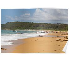 Shelly Beach Summer Poster