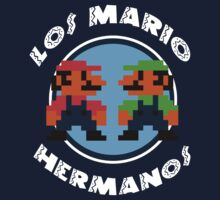 Los Mario Hermanos by TeeHut